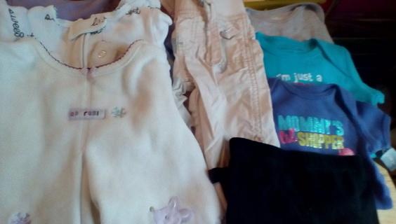 Girls Size (0-6) Months Clothing: EUC
