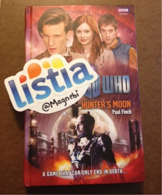 Free Doctor Who Hunters Moon Book Free Shipping Fiction Books