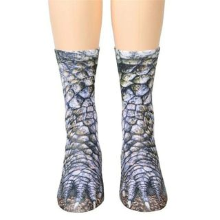 socks Women Man Adult Unisex Animal Paw Crew Socks Sublimated Print chaussette femme calcetines