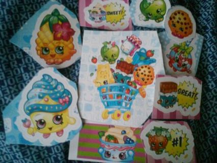 35pc. -MYSTERY- Stickers! #19