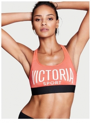 7a7722fa8de26 Free: Victoria's Secret the Player sport bra small coral reef new ...