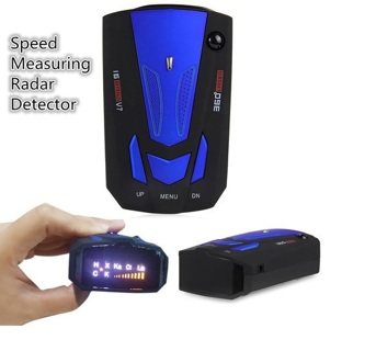 Anti-Police GPS Speed Measuring Radar Detector With Voice Alert