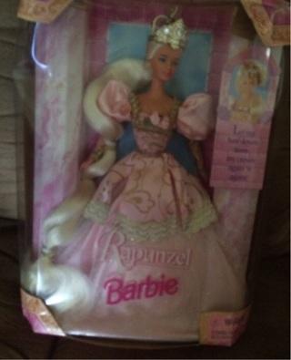 1997 Barbie as Rapunzel Doll