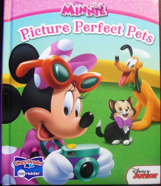 Disney Junior...Minnie's Picture Perfect Pets..Book