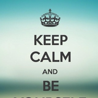 FREE Keep Calm And Be Yourself Wallpaper