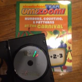 Team Umizoomi DVD & Activity Book
