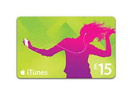 $15 iTunes/ App store Gift Card CODE