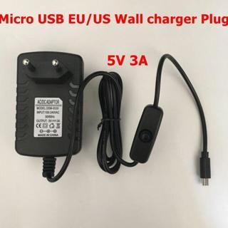 5V 3A USB AC Adapter DC Power Supply Charger for Raspberry Pi /Switch Eyeful