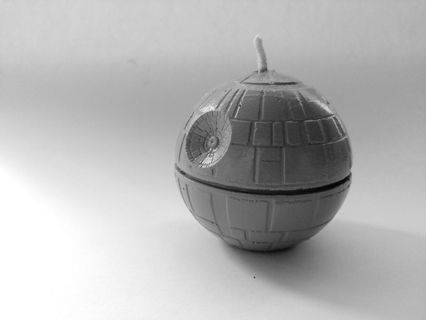 Death Star Candle - Star Wars Gift