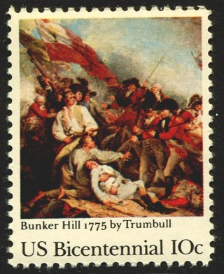 USA #1564   1975 Bunker Hill stamp, mint