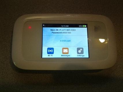 ZTE Velocity 4G LTE Mobile WiFi Hotspot GSM - White