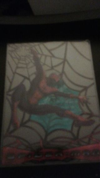 Tops web shooter clear card Spider-Man