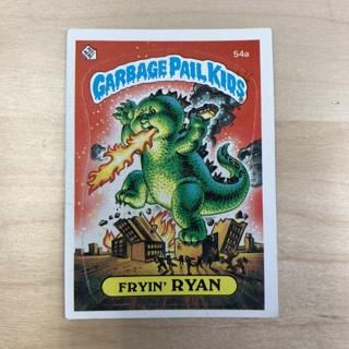 Garbage Pail Kids Series 2: Fryin' Ryan #54a