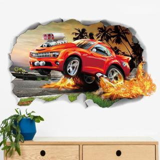 3D Wall Stickers Decal Waterproof Removable PVC Vinyl Art Home Living Room Decor