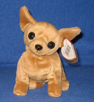 7e037e0102c Free  Ty Beanie Baby ~ TINY the Chihuahua Dog ~ MINT with MINT TAGS ...