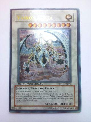 Weird Card Vairon Alpha