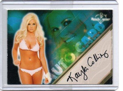2013 Benchwarmer Kayle Collins Autograph