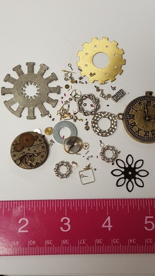 CRAFT ROOM CLEAN OUT! - GENUINE  Watch Parts and Steampunk Findings
