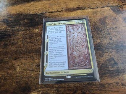 Magic the gathering mtg Firjas Retribution Rare card