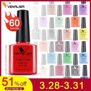 Venalisa nail Color GelPolish CANNI manicure Factory new products 7.5 ml Nail Lacquer Led&UV Soak
