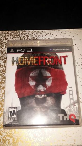 HOMEFRONT For PS3