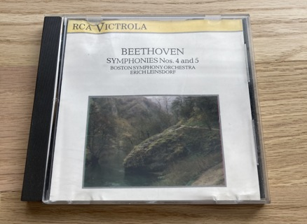 Beethoven 4th & 5th Symphonies ~ Classical CD