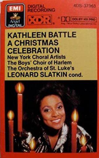 Kathleen Battle A Christmas Celebration cassette tape