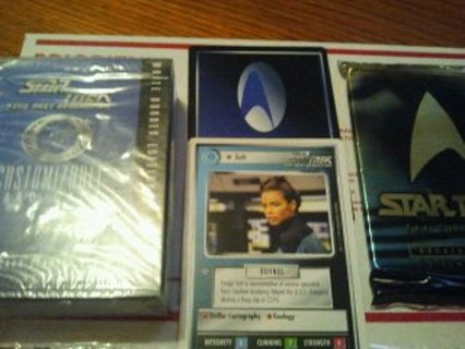 star treck  starter kit  one starter with 300 mixed cards
