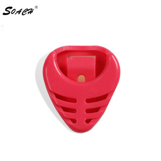 SOACH Bass ukulele guitar dial clip picks box boxes fish special Can stick 7 colors available Paddle