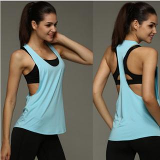 Sexy Women Fitness Yoga size M - L light blues