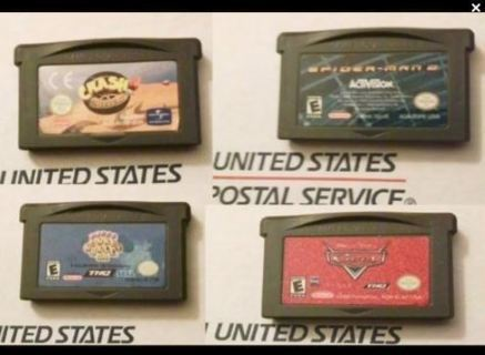 Gameboy Advance SP Games FREE SHIPPING