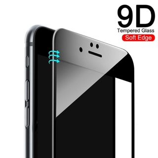 New 9D Full Cover Soft Edge Tempered Glass on the For iPhone 6 6s 7 8 Plus Screen Protector Film For