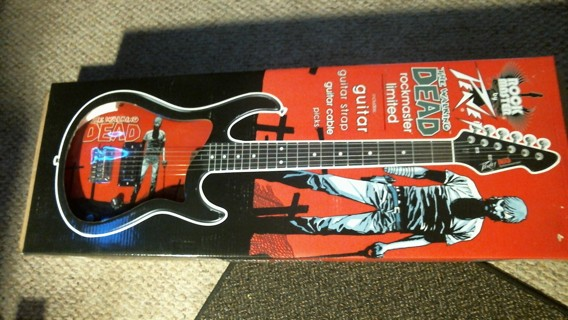 "New in Box: Peavey ""The Walking Dead"" Rockmaster Limited Edition Electric Guitar"