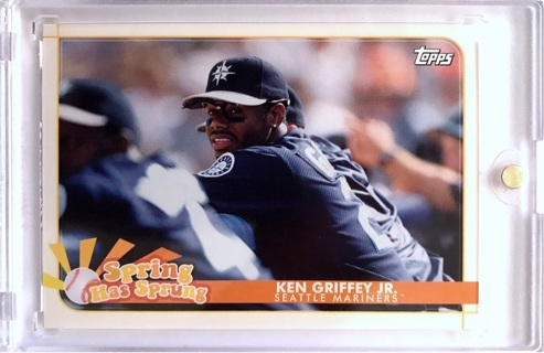 Ken Griffey Jr. - 2020 Topps Opening Day Spring Has Sprung #SHS-8 - Mariners FREE SHIPPING [A206]