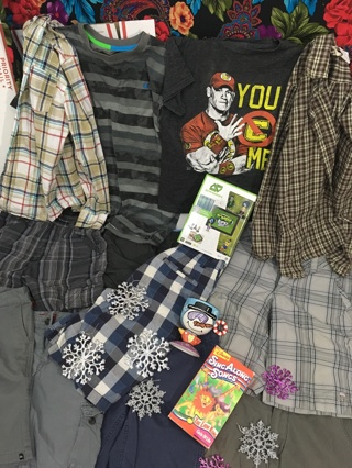 BOYS MIXED CLOTHING LOT RANDOM BOY'S CLOTHING LOT #2