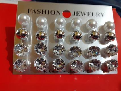 12 sets of Nickel Free Earrings Gin< receives surprise Bonus