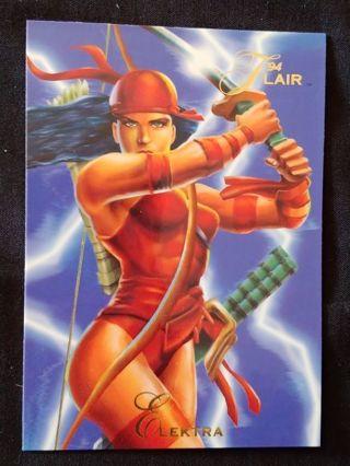 Marvel - Elektra Trading Card