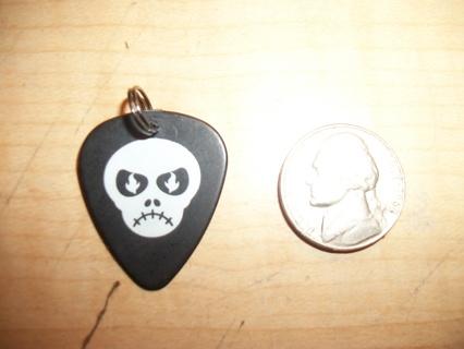 Guitar pick necklace charm