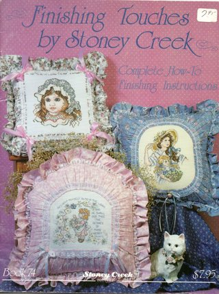 Cross Stitch Book: Finishing Touches, Complete Instructions to Add to Your Cross Stitch