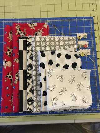 Fabric Remnants & Cute Charms