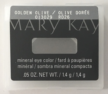 Mary Kay Mineral Eye Color .05 OZ. - Golden Olive 013029 RD26 - NEW