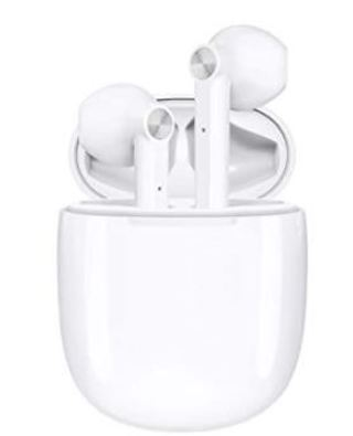 HSPRO T16 White Bluetooth Wireless In-Ear Headphones