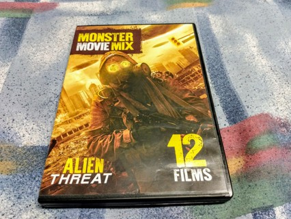 Monster movie mix - 12 Films dvd