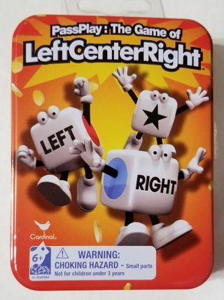 PassPlay : The Game of LeftCenterRight