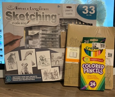 Sketching tools & projects with 2 GIN BONUSES