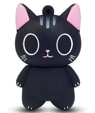 LEIZHAN Cute USB Flash Drive 16GB Cartoon Cat