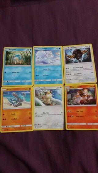 6 Pokemon Cards #4