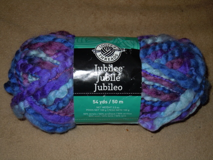 Free: Loops & Threads Jubilee Yarn-Royal Blue - Knitting - Listia