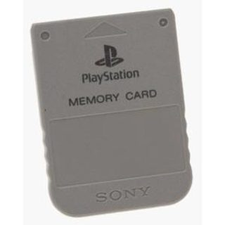play station memory card