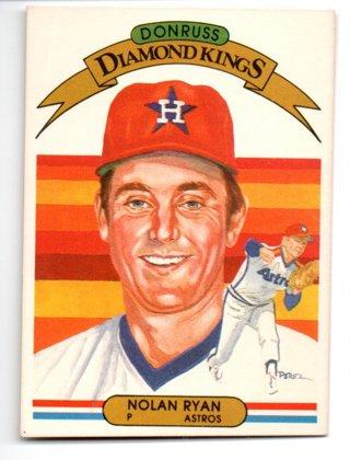 1982 Donruss Nolan Ryan Diamond King